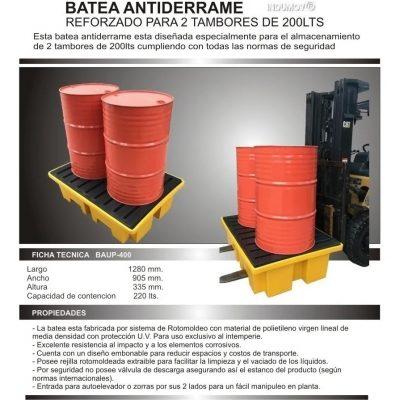 Bateas Anti Derrames