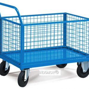 carro cesto metalico