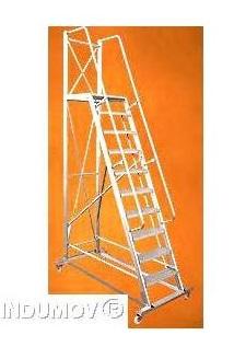Escalera Movil De Aluminio