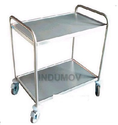 mesa rodante de acero