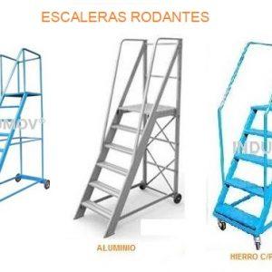Escaleras moviles para almacen