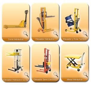 apilaror manual hidraulicos