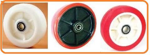 ruedas de plastico