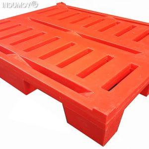 Pallet De Plástico De 1.000×1.200 mm Reforzados