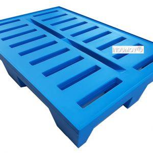 Pallet De Plástico De 1.200x800mm